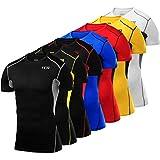 TCA Men's & Boy's Hyperfusion Compression Shirt Short Sleeve Baselayer