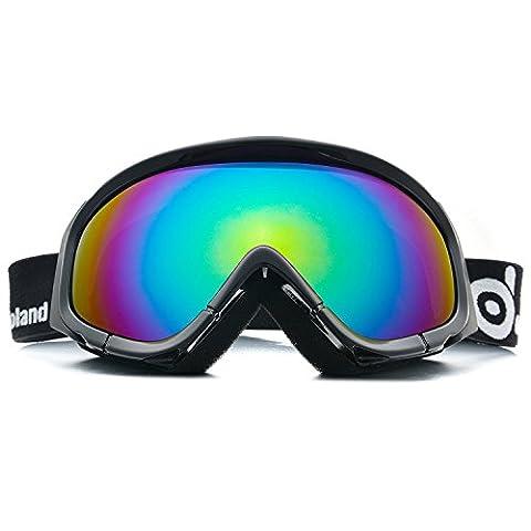 Odoland Ski Goggles for Adult Man &