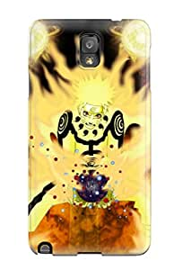 Galaxy Note 3 Case Cover - Slim Fit Tpu Protector Shock Absorbent Case ( Naruto Shippudens Rar)