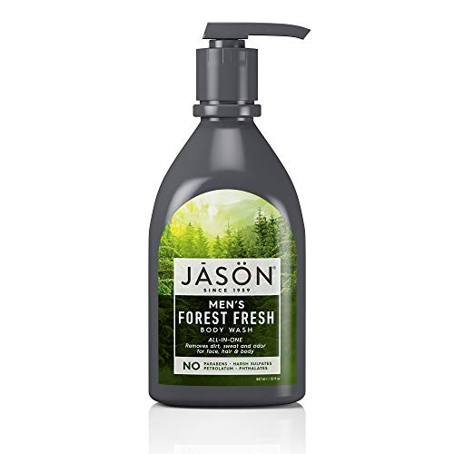 (JASON Men's Forest Fresh All-In-One Body Wash, 30 Ounce)