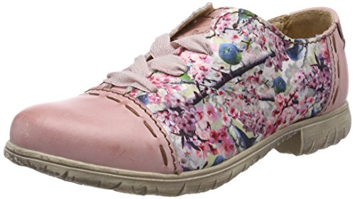 Rovers Scarpe Stringate Oxford Donna Rosa (Pink)