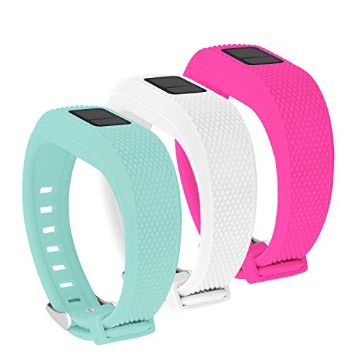 Jobese For Garmin Vivofit 3 and Vivofit Jr Bands, Soft Silicone Wristband with Secure Watch Clasp for Garmin Vivofit 3/ Vivofit Jr/Vivofit Jr. 2 Fitness Tracker
