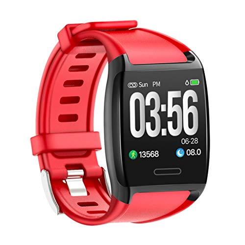 Sacherron Tech smart watch Smart Watch Sports Fitness Activity Heart Rate Tracker Blood Pressure Calories Multiple Sports Modes Support GPS Sleep Monitoring Compatible with Android iPhone Phone ()