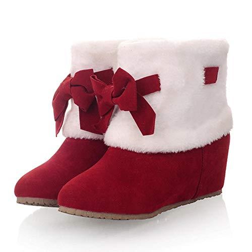 De Red Internos Nieve 2018 32 Botines Invierno Grandes Tamaños Mejor Zapatos Calidad Mujer Tacones Hoesczs 43 ZwqA8SZ