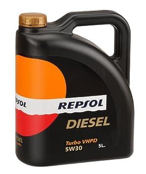 Repsol Diesel Turbo vhpd 5 W30 aceite de motor 5 L: Amazon.es: Coche y moto