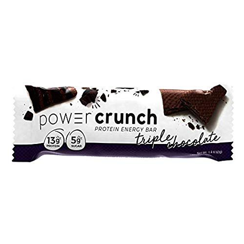 Bio Protein Bar - Bio-Nutritional Power Crunch, Triple Chocolate 12 Cookies