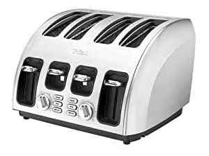 T-fal TF5600 Avante Icon Cooking Core 1800-Watt Full Brushed Stainless Steel Body, White