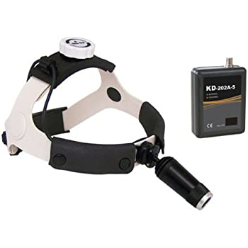Camping & Hiking 3W LED Surgical Medical Head Light Lamp Headlight AC/DC KD-202A-3 by Superdental Outdoor Gear