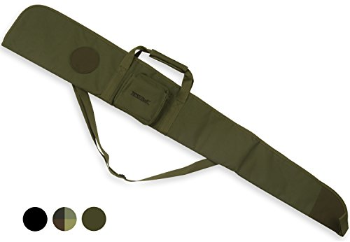 Padded Air Rifle/Shotgun Gun Bag/Case Shooting Hunting Storage Olive Green