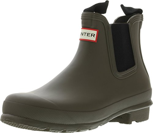 Hunter Women's Original Chelsea Rma Swamp Green Ankle-High Rubber Rain Boot - 8M by Hunter