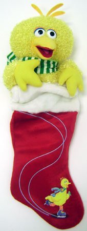 Sesame Street Big Bird Christmas Stocking