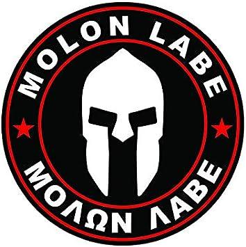 Molon Labe,Spartan,Second Amendment,Come and Take Them,2A,Stickers,Vinyl Decal