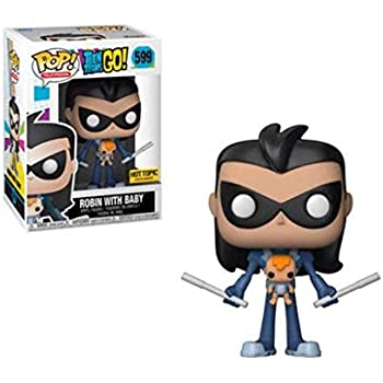 FREE POP PROTECTOR FUNKO POP TEEN TITANS GO ROBIN AS RED X UNMASKED EXCLUSIVE