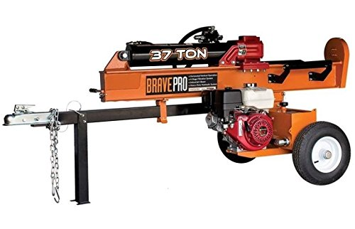 Brave Vh1737gx Auto Return Log Splitter, 37 Ton by Brave