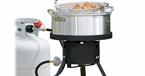 Outdoor Heavy Duty Fryer W Cool Touch Handle 10 5 Qt