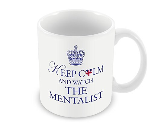 Price comparison product image Keep Calm Mug - and Watch The Mentalist by Chalkhill Printing Company
