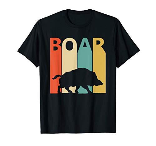 Vintage Wild Animal Boar T-shirt -