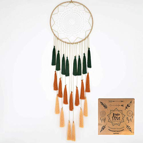 Littlear Dream Catcher Tassels Wall Hanging Decoration Large Dream Catchers Bedroom Dia 7.9