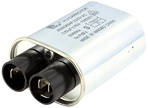 Panasonic A60903650AP High-Voltage Capacitor for Panasonic NE-1257CR, NE-1257R, and NE-1258R Microwave Ovens