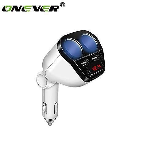 ... del Divisor del zócalo 12V / 24V con los Puertos duales USB para iPhone iPad, Samsung, GPS, dashcam, Detector de Radar y Mã¡s: Amazon.es: Electrónica