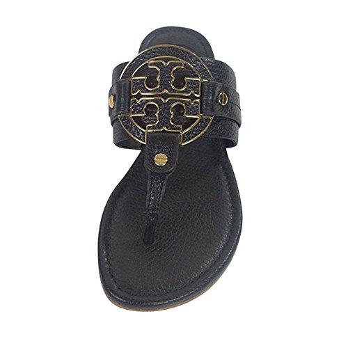 c1d8bad1186d Tory Burch Amanda Flat Thong Sandals Black Size  4.5 UK  Amazon.co.uk   Shoes   Bags