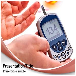 Amazon Com Diabetes Mellitus Powerpoint Template Diabetes