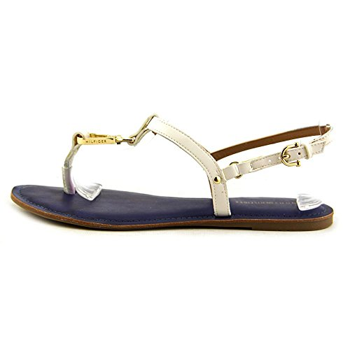 Tommy Hilfiger Womens LENITA Open Toe Casual Flat Sandals Cream EuYXmak