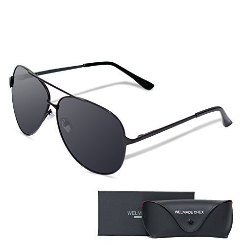 WELMADE CHEX Premium Mirrored Sunglasses product image