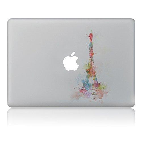 GTNINE MacBook Stickers Eiffel Tower Fantasy Sticker MacBook Decals Laptop Skin Sticker Vinyl Removable stickers for Apple Macbook Air 13