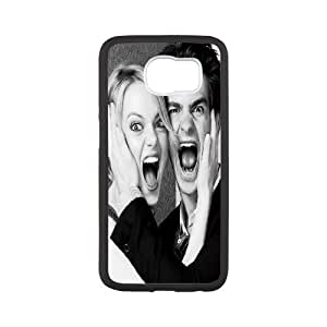 [Emma Stone] Andrew Garfield and Emma Stone. Case for Samsung Galaxy S6, Samsung Galaxy S6 Case Design Protective for Guys {White}