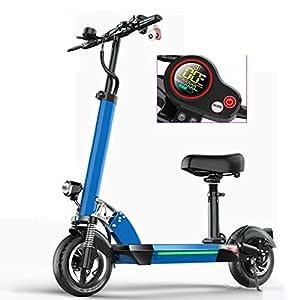 Scooter Electrico Adulto, Alcance de 50Km Scooter Plegable ...