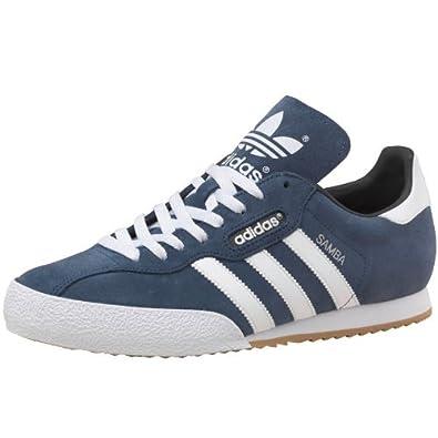 Mens adidas Originals Samba Super Suede Trainers Navy/White/Gum Guys Gents