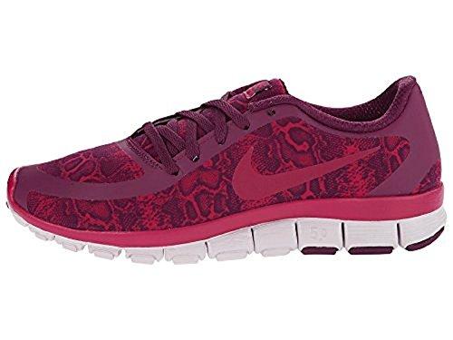 Nike Free 5.0 V4 Moerbei / Venetië / Sport Fuchsia