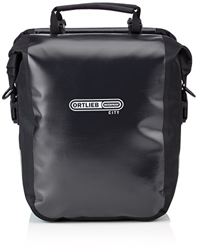 Ortlieb Roller -  Ortlieb Front-Roller City Front Pannier: Black