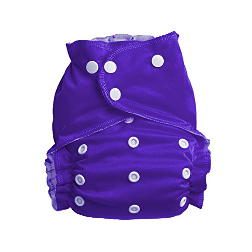 Evergreen Easy Peasies Pocket Cloth Diaper Cover 6-40 lbs One Size Ships From Canada