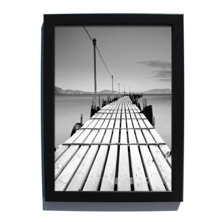 4x6 black photo frame