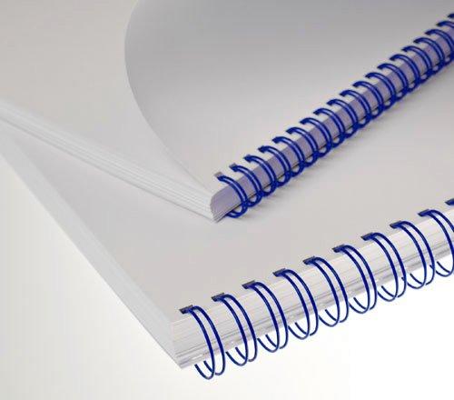 3: 1 Renz Wire elementi per rilegatura 34/anelli 5//40,6/cm black diametro 8/mm