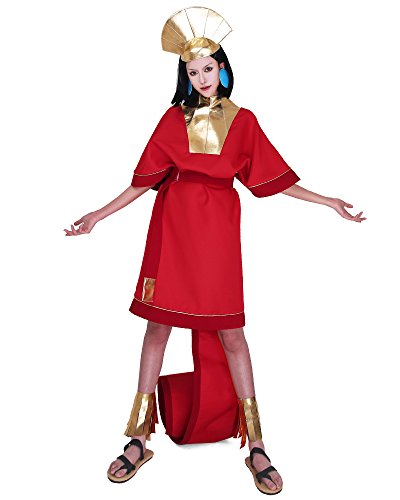 Cosplay.fm Adult's Emperor Kuzco Cosplay Costume Fancy Dress With Hat For Halloween (M/L)
