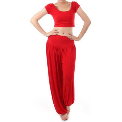 Gogo Team Women Yoga Pants Costume Belly Dance Yogawear Gym