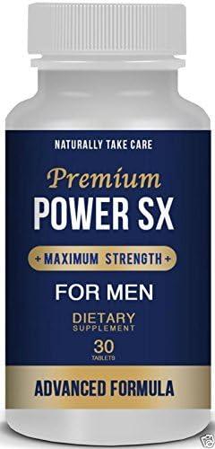 Men's Natural Sex Supplement - Sexual Health & Libido Booster