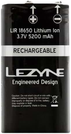 Lezyne Bicycle Light Lir 2 Cell Mega Drive Battery
