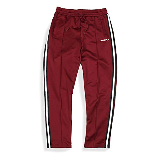 hombres plisado joggers pantalones cinta Agora 78xqnwzq