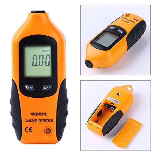Electromagnetic Radiation Detectors - Digital Lcd Display Microwave Leakage Detector Percision Radiation Meter Leaking Tester With Alarm - Microwave Dosimeter Detector Leakage Tester Vacuum Evap
