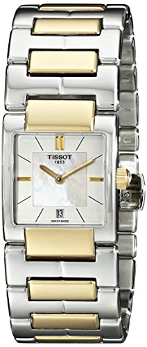 Tissot Women's TIST0903102211100 T2 Analog Display Swiss Quartz Two Tone -