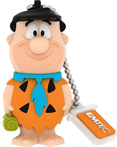 EMTEC Flintstones 8 GB USB 2.0 Flash Drive, Fred