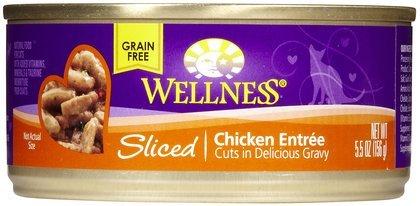 Wellness Sliced Chicken Entree - 24 x 5.5 oz