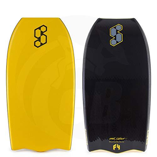 Mike Stewart Science Bodyboard Style Quad Channels Polypropylene (Polypro) Delta Tail