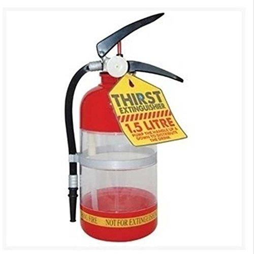 Xiaolanwelc@ Bar Creative Fire Extinguisher Water Beer Dispenser Alcohol Liquid Soft Drink Beverage Dispenser Machine Water Bottles