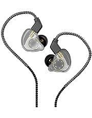 CCZ Melodía in Ear Monitor, Dynamic Hybrid Dual Driver in Ear Auriculares 1BA+1DD HiFi Auriculares Músicos Actualización IEM Bajo Profundo Adecuado para Bass Vocals Pop Folk ACG (sin micrófono, transparente)