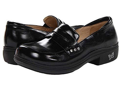 Alegria Women's Taylor Slip-On,Black Waxy,38 EU/8-8.5 M US